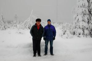 Olof G0CKV (left), Michael G7VJR (right)