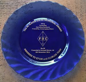 Club Log G3FXB Award